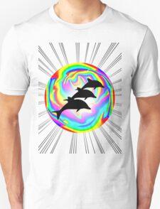 Wild Dolphin Aria Unisex T-Shirt