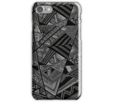 abstract line iPhone Case/Skin