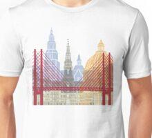 Copenhagen skyline poster Unisex T-Shirt