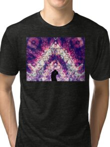 """Young Love"" - visionary art Tri-blend T-Shirt"