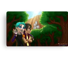 Forest Banner Canvas Print