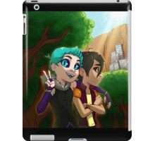 Forest Banner iPad Case/Skin