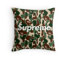 supreme army  Throw Pillow