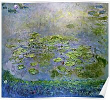 Claude Monet - Nympheas [Waterlilies] (1914 17)  Poster