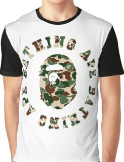 a bathing ape army Graphic T-Shirt
