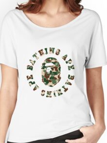 a bathing ape army Women's Relaxed Fit T-Shirt