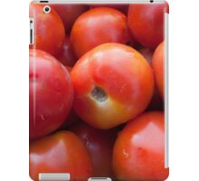 A pile of luscious bright red tomatoes iPad Case/Skin