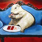 Prairie Dog and Birthday Cake by Adam Berardi