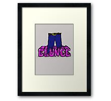 "The Inbetweeners - ""Knee deep in Clunge!"" Framed Print"