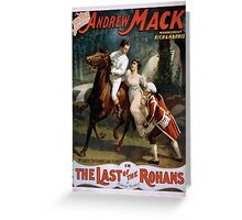 Performing Arts Posters The singing comedian Andrew Mack in the The last of the Rohans by Ramsay Morris 2026 Greeting Card
