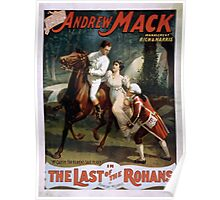 Performing Arts Posters The singing comedian Andrew Mack in the The last of the Rohans by Ramsay Morris 2026 Poster