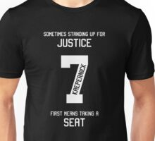 Taking a Seat for Justice Unisex T-Shirt