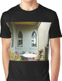 *A Cosy outdoor corner at the Daylesford Convent -Vic. Aust.* Graphic T-Shirt