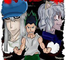 Gon's x Revenge HUNTER X HUNTER design by sharaizgx