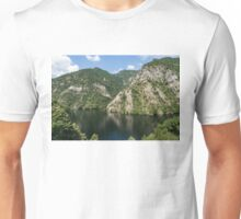 Rough Limestone - a Peaceful Lake in the Mountains Unisex T-Shirt