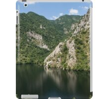 Rough Limestone - a Peaceful Lake in the Mountains iPad Case/Skin