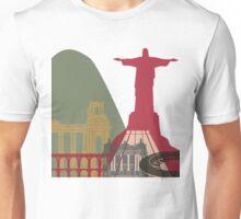 Rio de Janeiro skyline poster Unisex T-Shirt
