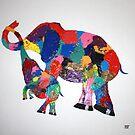 Elephant Family by Heidi Foreman