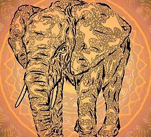 """Elephant Spirit"" version2 ,  by Leah McNeir"