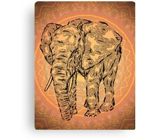 """Elephant Spirit"" version2 ,  Canvas Print"