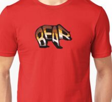 Bear (Morphed Black) Unisex T-Shirt