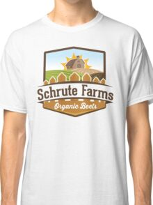 Schrute Farms - Organic Beets - The Office TV Show / Dwight Schrute Inspired Design Classic T-Shirt