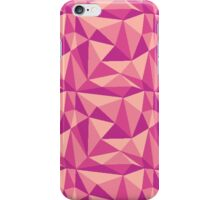Faceted Pink Pixel iPhone Case/Skin
