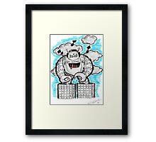 Robotech & Deck Framed Print