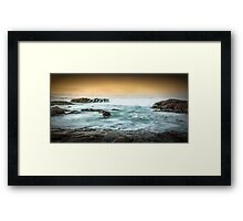 Ocean Flow Framed Print