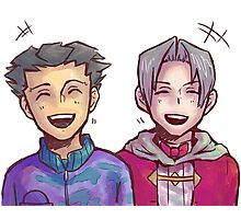 Ace Attorney! Photographic Print