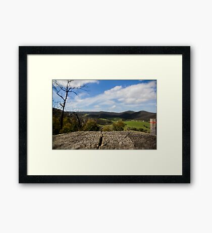 Just Perfic Framed Print