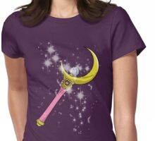 Crescent Moon Magic Womens Fitted T-Shirt