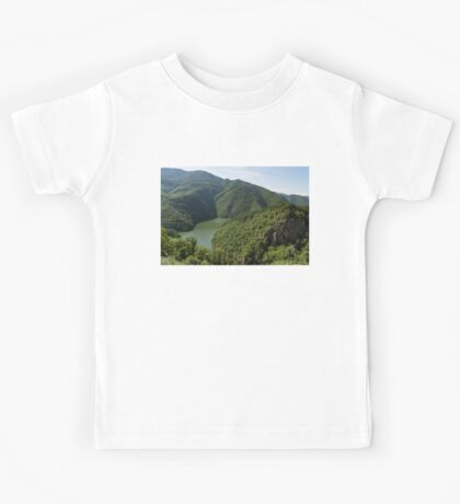 More Than Fifty Shades Of Green - Secluded Lake in the Mountains Kids Tee