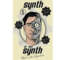 Synth or not Synth Photographic Print