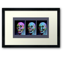 IN THE LAB Framed Print