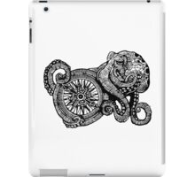 Octopus and ship's compass iPad Case/Skin