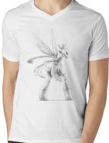 Scyther - original illustration Mens V-Neck T-Shirt
