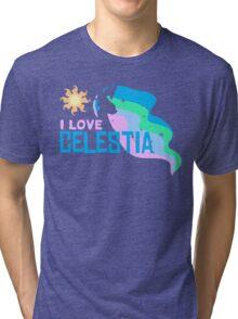 I LOVE CELESTIA Tri-blend T-Shirt