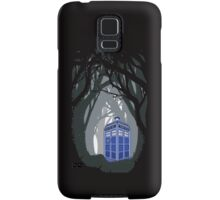Space And Time traveller Box lost in the woods Samsung Galaxy Case/Skin