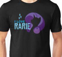 I LOVE RARIE Unisex T-Shirt
