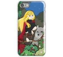 Red Ridding Hood iPhone Case/Skin