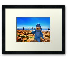 Spotted Off The English Coast Framed Print