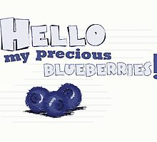 My Blueberries by TEWdream
