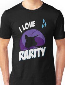 I LOVE RARITY Unisex T-Shirt