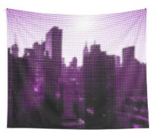 "Pixels Print ""NEW YORK CITY PINK"" Wall Tapestry"