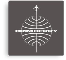 Brimberry Jet Age Canvas Print