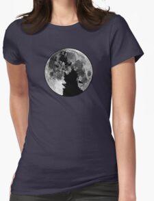 World War dalek vs man Womens Fitted T-Shirt