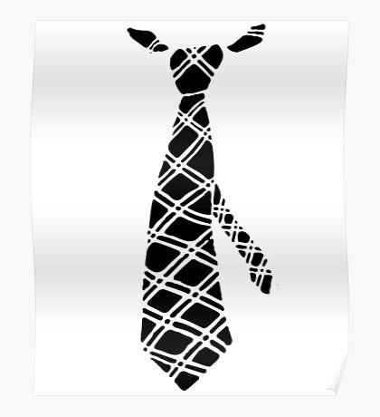Funny Necktie Tie Print Graphic Print Poster