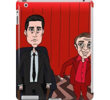 Dale Cooper in the Red Room with the Dancing Little Man iPad Case/Skin