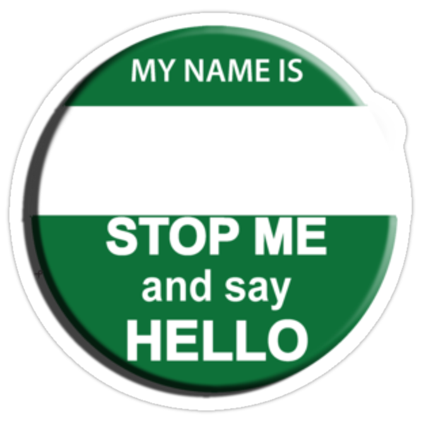 """The Inbetweeners - """"Nice Badge"""" make your own by ptelling"""